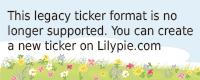 Lilypie In verwachting Ticker
